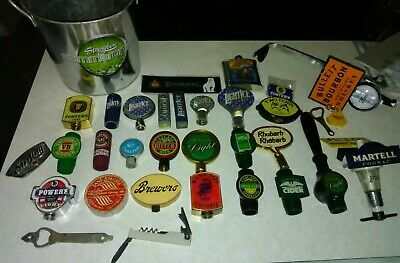 23+ Vintage Beer Taps+ Handle Tops VB Fosters Carlton Bundaberg magnet cognac+