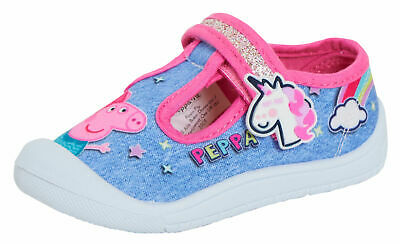 athletic shoe Little girls kids shoes Peppa Pig │Toddler Girls canvas