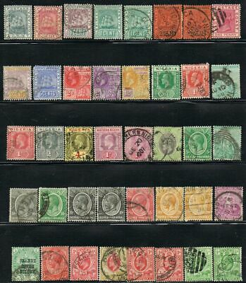British Commonwealth. Mixed selection of 40 early stamps. Some duplication.