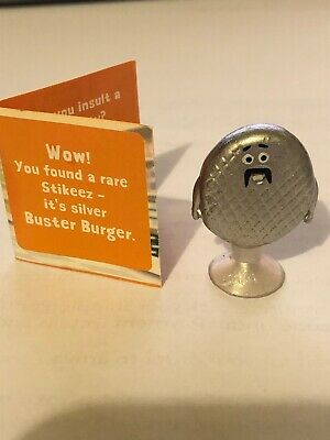 RARE Silver Buster Burger * Brand New COLES STIKEEZ Series 2 2020 - FREE Postage