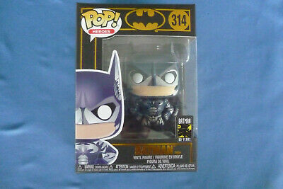 BATMAN FUNKO Heroes POP #314 80 YEARS  Black Box   New