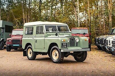 Land Rover Series 2A Station Wagon 1959