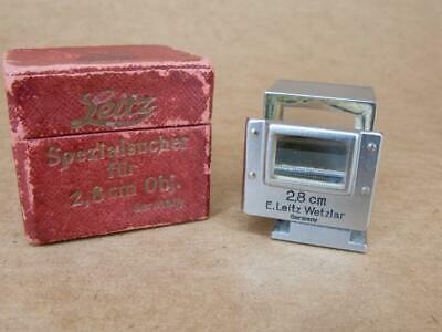Leitz Leica SUOOQ 28mm Folding Viewfinder - Boxed