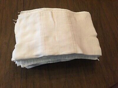 Vintage Trifold Reusable Diaper Cloth Lot 22 pieces, 15x13 Excellent condition