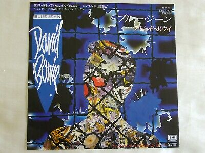 """David Bowie - Blue Jean/Dancing With The Big Boys.1984 Japan 7"""" 45. EYS17476. EX"""