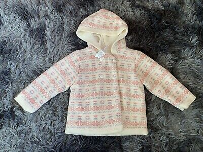 9-12 Months Girls Coat Brand New Baby Boutique RRP £25