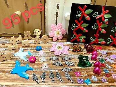 95pcs Children Colourful Kid Art Craft Materials Make Your Own Activity Play set