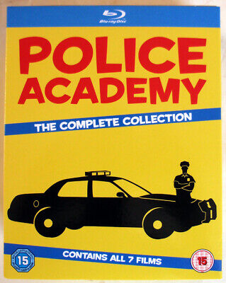 POLICE ACADEMY - THE COMPLETE COLLECTION - 7xBLU-RAY - REGION FREE