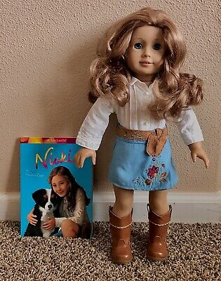 American Girl 2007 Cowgirl Nicki Doll of The Year Retired