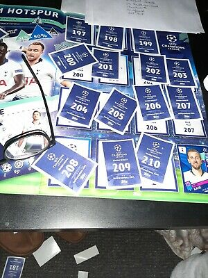 Panini Premier League Football 2020 Stickers. 20 x Sealed Packets