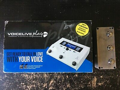 TC Helicon VoiceLive Play GTX Multi-Effect Vocal Processor + Foot Controller