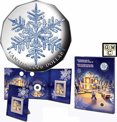 2006 Holiday Carols Proof Silver $1 with Music CD (11985) (OOAK)