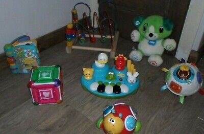 Toddler Toys Bundle Leapfrog VTech  Bead Frame  Ball Piano Book  Music Cube MORE