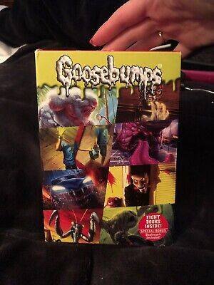 Seven Frightening Goosebumps Box Set - Paperback By R. L. Stine - Like New