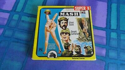 super 8 mm film MASH   400 series