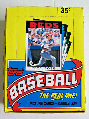 4 Baseball Card Boxes - 1986 Topps , 1991 Score , 1990 Upper Deck , 1991 Leaf