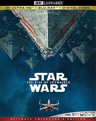 Star Wars: The Rise of Skywalker 4K ULTRA HD/BLU-RAY with SLIPCOVER