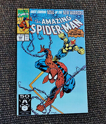 The Amazing Spider-Man #352 (Oct 1991, Marvel 1st Series) Nova Appearance VF/NM