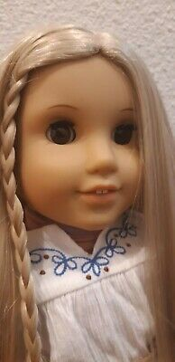 """American Girl Doll Julie Albright 18"""" Barely Used"""
