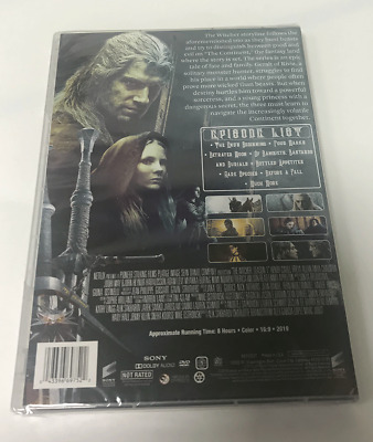 Details about The Witcher Season 1 Complete Brand New Sealed (DVD)