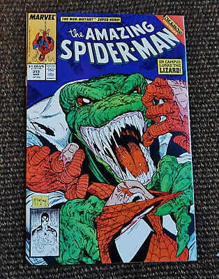 The Amazing Spider-Man #313 (Mar 1989, Marvel 1st Series) Todd McFarlane VF/NM
