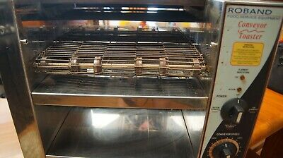 Roland conveyor toaster works good both top and bottom elements.