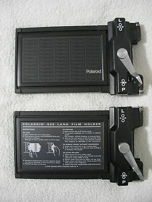 2X Polaroid 545 Land Film Holder for Large Format 4X5 Cameras