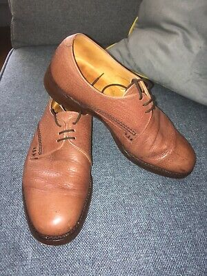 vintage Loake  Uk 6 Brown Leather Shoes