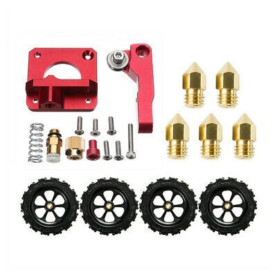 Creality Ender 3 Pro Extruder Upgrade Kit + 4X Leveling Nuts + 5X 0.4mm Nozzles