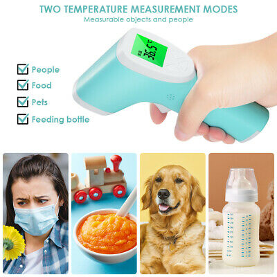 Non Contact Digital Infrared Temporal Forehead Thermometer Kit Body Temperature