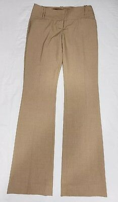 The Limited Collection Womens Dress Pants Beige Light Brown Cassidy Size 2L Long