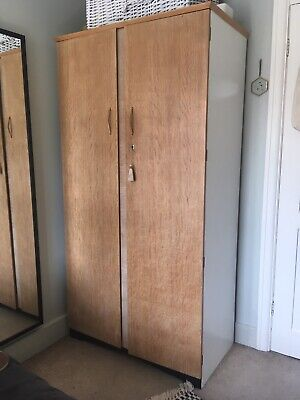 Mid century Gentlemans wardrobe - Advance Furniture