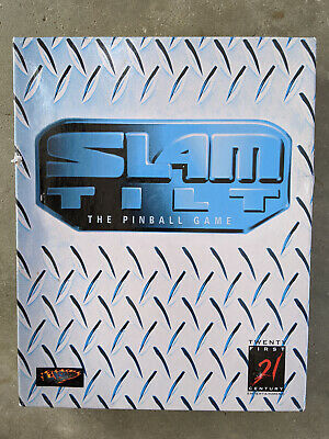 Vintage Commodore Amiga 1200/4000 Video Game - Slam Tilt - Used