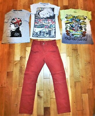 Chino Jeans 3x T-shirts Children's Bundle Clothing Age12-13years