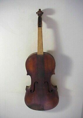 A + S ANTONIUS STRADIVARIUS Model Antique 19th Century GERMAN VIOLIN #18