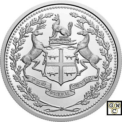 2020'350th Ann. of Hudson's Bay Company'Prf $10Fine Silver Coin(RCM 177002)18909