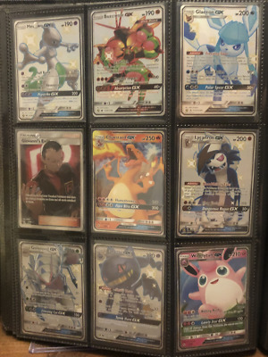 PART COMPLETE Hidden Fates Elite Trainer Box ETB bundle joblot Pokemon Cards