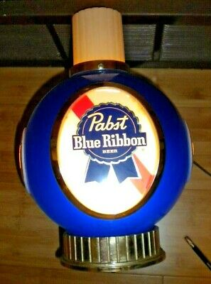 Pabst Blue Ribbon Beer Lighted Wall Sconce 12 x 10 x 9 Vintage