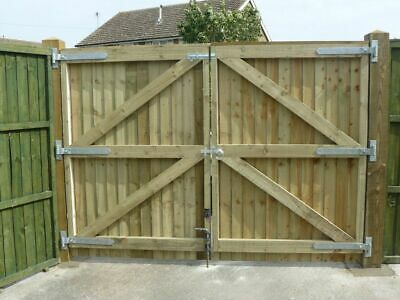 Driveway Gates Heavy Duty Fully Framed And Treated