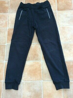 Boys Aston Martin Blue Tracksuit Bottoms Joggers - Age 8 Years