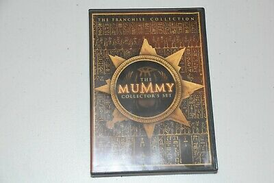 The Mummy Collectors Set (DVD, 3-Disc Set)  LIKE NEW