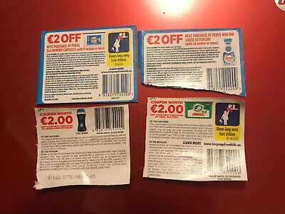 £8 Euro Coupons -for Ariel & Bold 3 in 1 Pods & Euro Lenor Unstoppables Etc