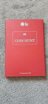 Set Of 50p Coins In Royal Mint Coin Hunt Album 1997-2017 without Kew Gardens 50p