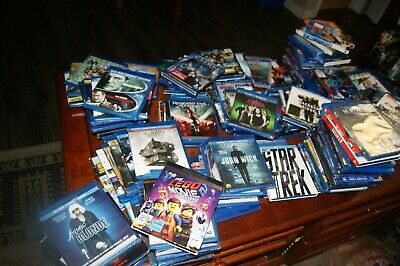 140 BLURAY lot and 211 dvds INCLUDES Full Series and SEASONS