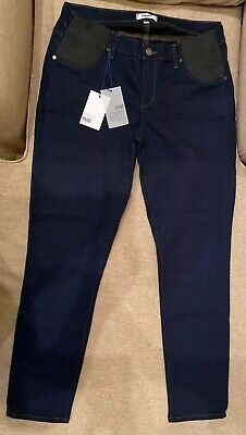 New with Tag $199 PAIGE Verdugo Ankle Skinny Jeans in Gilmore Maternity Size 26