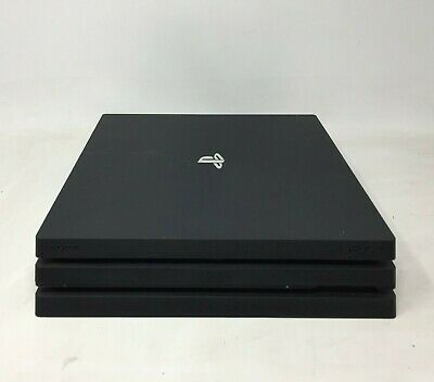 Sony PlayStation 4 Pro PS4 Pro CUH-7102B Black Console Only **FAULTY**