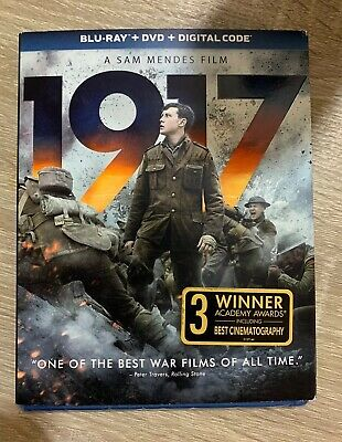 1917 (Blu-ray+DVD) (No Digital) w/Slipcover