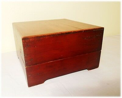 Antique Chinese Ming Cypress Treasure Box (2898), Circa 1850-1899