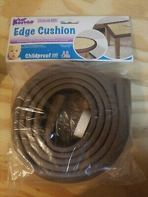 1 New Kidkusion 6' Brown Edge Cushion Childproof Protection