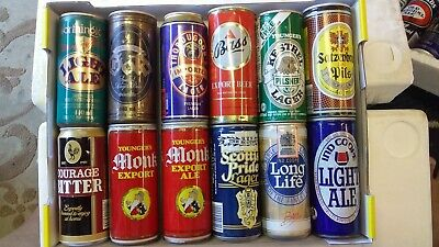 56 Steel & Aluminium 440ml Beer Cans from UK